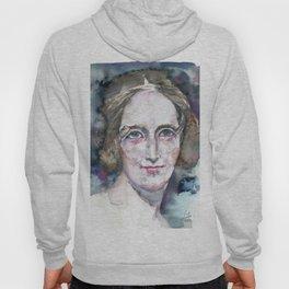 MARY SHELLEY - watercolor portrait Hoody