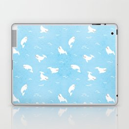 Beluga Whales Laptop & iPad Skin