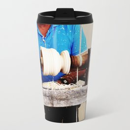The artisan and the lathe Travel Mug