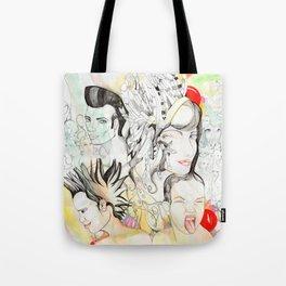 Crazy Family Tote Bag