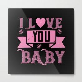 Be My Valentines Day Love - 20 Metal Print
