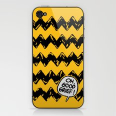 CHARLIE CHEVRON iPhone & iPod Skin