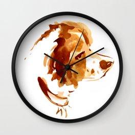 """in loving memories """"Roti"""" Wall Clock"""