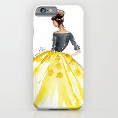 Sunny Spring Yellow Skirt Fashion Illustration iPhone 6s Slim Case