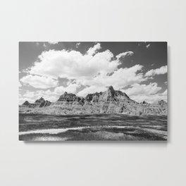 The Bad Lands of South Dakota Metal Print