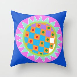 Dot #17 by lalalamonique Throw Pillow