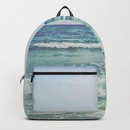 Ocean Crashing Waves Backpack