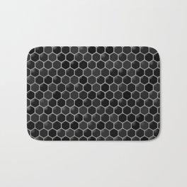 black beehive Bath Mat