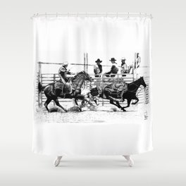 Taylorsville Rodeo Shower Curtain