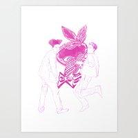 GD+TOP Art Print