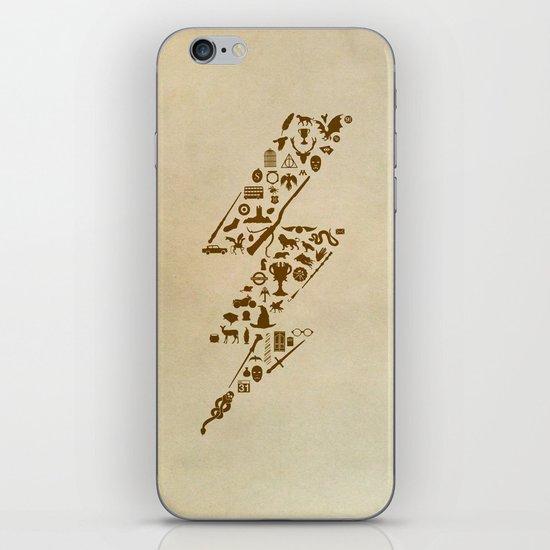 Lightning never strikes twice  iPhone & iPod Skin