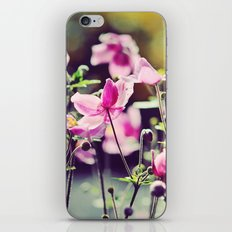 Summer blooms iPhone & iPod Skin