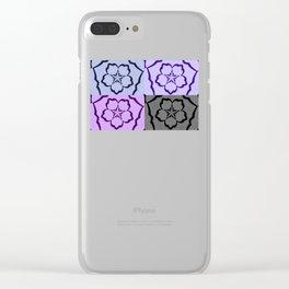 Sakura Combined Clear iPhone Case