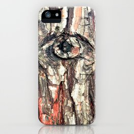 The Trees Are Watching iPhone Case