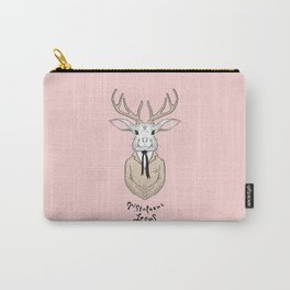 Epistolarus Lepus (pale pink) Carry-All Pouch