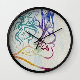 Screaming Girl Wall Clock