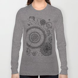 Movement of the Spheres 01 Long Sleeve T-shirt