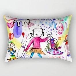 The Enchanted World Of Niki Rectangular Pillow