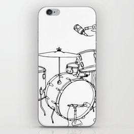 Drum Recording iPhone Skin