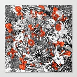 Sixth Mix Black Canvas Print