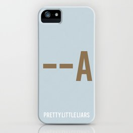 Pretty Little Liars - Minimalist iPhone Case