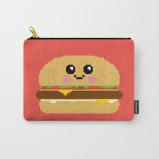 Happy Pixel Hamburger Carry-All Pouch
