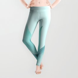 Aqua Solar Agave Leggings