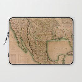 Map of North America Missouri Territory (1826) Laptop Sleeve