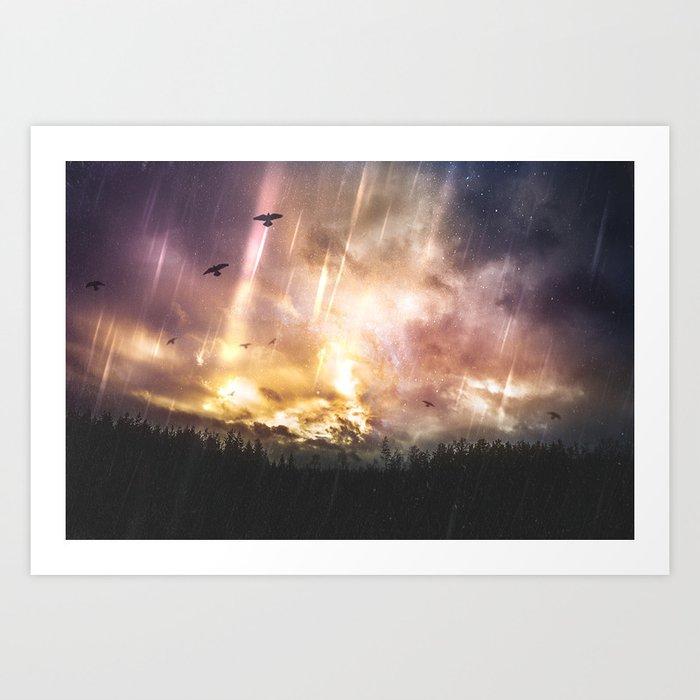 The stars where wrong Art Print