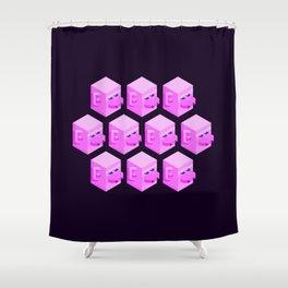 Zhu Wuneng Clones Shower Curtain