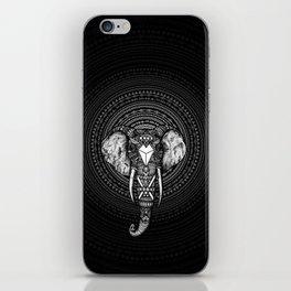 Aztec Circle Elephant iPhone Skin