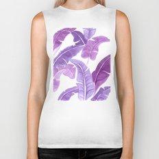 Purple Palms Biker Tank