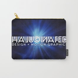 Halucinated Design + Motion Graphics Carry-All Pouch