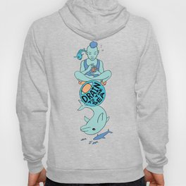 Dolphin - EYE Drain to the Sea Hoody