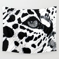 cheetah Wall Tapestries featuring cheetah by Augusto Menestrina