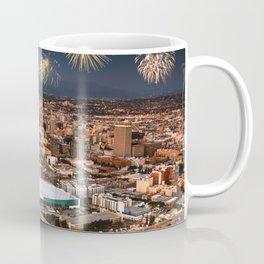 los angeles fireworks Coffee Mug