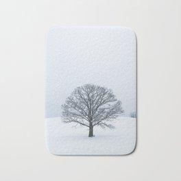 Frozen Tree Bath Mat