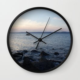 Kayaker Leith Edinburgh Wall Clock