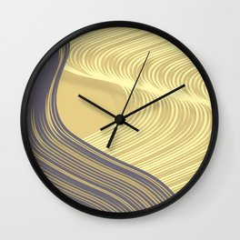 Leaning in Summer #2 Wall Clock
