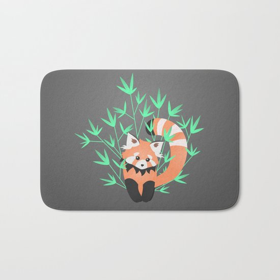 Baby Red Panda / Night Bath Mat