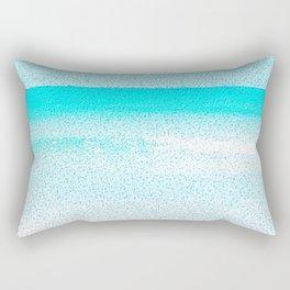 Blissful Beach - Sunny Glow Rectangular Pillow