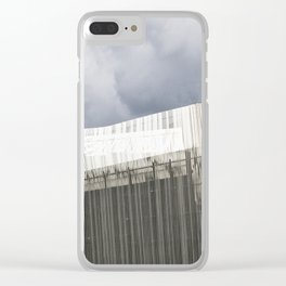 Waterfront Building Clear iPhone Case