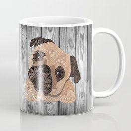 Pug Hug Coffee Mug