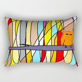 meditation animal Rectangular Pillow