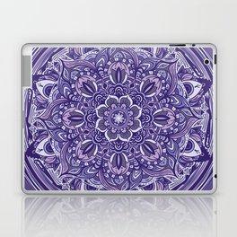 Great Purple Mandala Laptop & iPad Skin