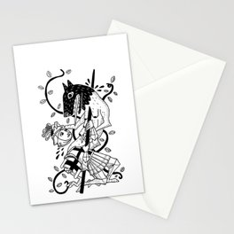 Bored Knight Stationery Cards
