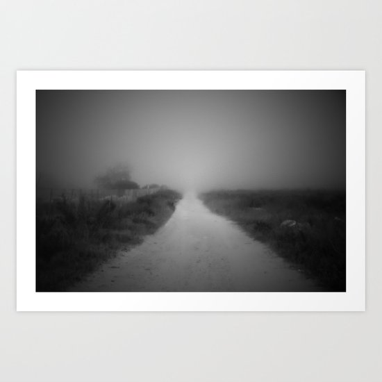 The road to nowhere Art Print