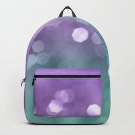 Mermaid Colored Bokeh #1 #shiny #decor #art #society6 Backpack