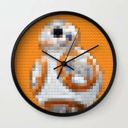 BB8 - Legobricks Wall Clock