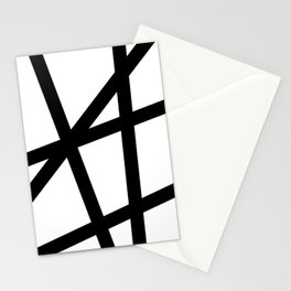 Lazer Dance Black on White Stationery Cards